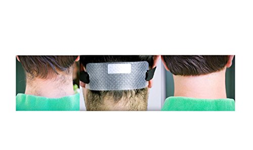 Quality Time Neck Hair Guide A Template For Shaving And Keeping A Clean And Straight Neck Hairline A Stencil For Neckline Haircuts Do It Yourself