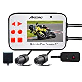 [2019 Upgrade] Meknic A7 Motorcycle Camera,With GPS Dual Lens 1080P Video Security Motorbike Camera System With 2.7' Screen, Motorcycle Dash Camera,Waterproof Action Camera Motorcycle Driving Recorder