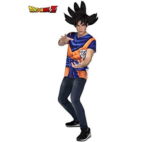 Dragon Ball Camiseta Disfraz de Son Goku Hombre: Amazon.es ...
