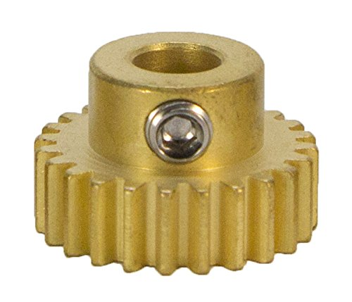 24 Tooth, 6mm Bore, 32 Pitch Pinion Gear