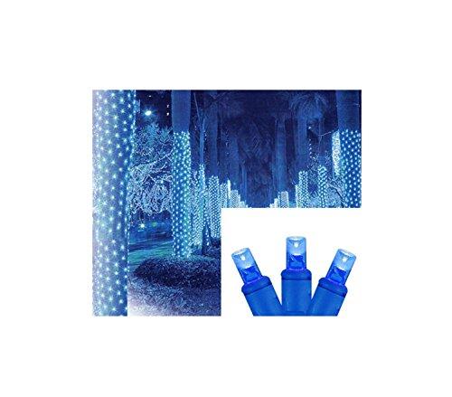 Blue Led Light Tree - 1