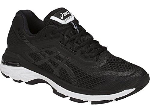 ASICS Women's GT-2000 6 Running Shoe, Black/White/Carbon, 5.5 M US by ASICS (Image #1)