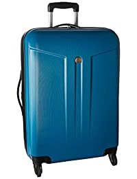 Delsey Luggage Comete 24 Expandable 4 Wheel Spinner, Teal