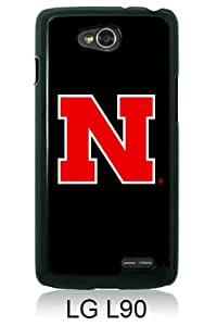 Popular LG L90 Case ,Ncaa Big Ten Conference Football Nebraska Cornhuskers 3 black LG L90 Cover Beautiful And Durable Designed Case