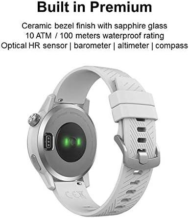 Barom/ètre altim/ètre COROS APEX Premium Connexions Ant BLE Boussole Entra/îneur de Montres Multisports Ultra-r/ésistant Moniteur de fr/équence Cardiaque C/éramique//Titane