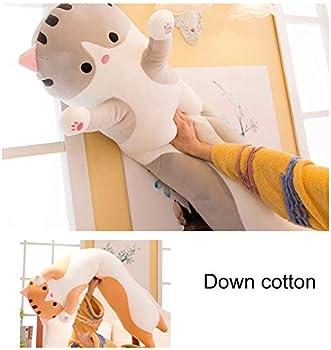 Long Cute Cat Doll Plush Toy Soft Stuffed Sleeping Pillow Comfort 50cm Kitt C7K8