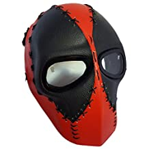 Invader King ™ Deadpool Leather Airsoft Mask Protective Gear Outdoor Sport Masks Bb Gun