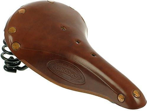Brooks England Flyer Men/'s Bike Saddle Honey Brown // Black Steel Comfortable