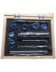 Carbide Tipped Valve SEAT Cutter 12 Piece Set - Vintage CAR Bike Engine - New 4