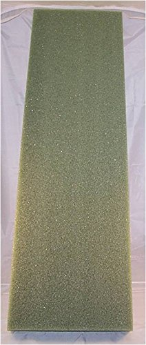 Styrofoam Sheets 10 Count Green Foam 2 Inch X 12 Inch X 36 Inch by FloraCraft