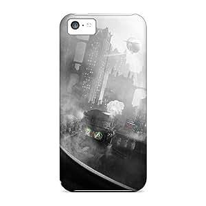 Hot Tpu Cover Case For Iphone/ 5c Case Cover Skin - Arkham City