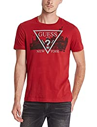 by GUESS Guess Factory Men's New York Logo Crew Tee