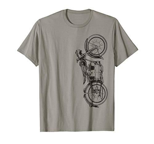 Vintage Retro Motorcycle T Shirt
