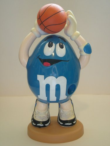 M&M Basketball Sports Candy Dispenser - Limited Edition Collectible