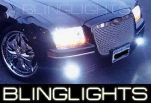 2005-2010 CHRYSLER 300 / LIMITED BLUE HALO FOG LAMPS Lights foglamps 300c