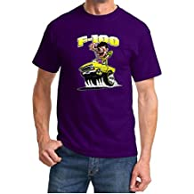 1967-72 Ford F100 F-100 Mad Monster Yellow Truck Design Tshirt