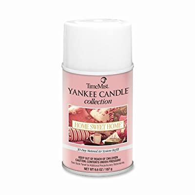 TimeMist Yankee Candle Air Freshener Refill, Home Sweet Home Scent, 6.6 Ounce Aerosol Can (81-2300TMCA)