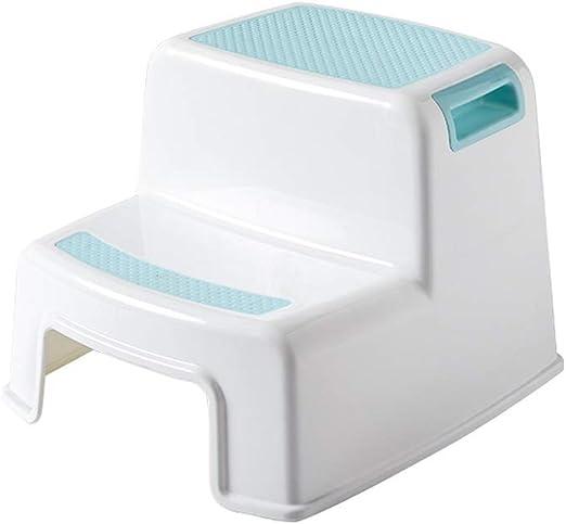 Byx- Taburete para pies Inodoro Infantil Lavado para bebés Taburete para niños Baño Escalera Ascendente Antideslizante Escalera para escalones Silla Asientos de Inodoro para niños: Amazon.es: Hogar
