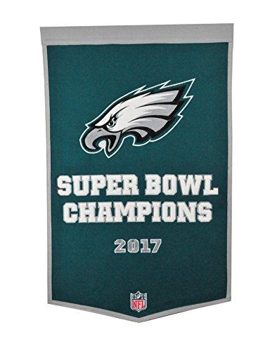 Super Bowl Dynasty Banner - Winning Streak NFL Philadelphia Eagles Super Bowl 52 Dynasty Banner