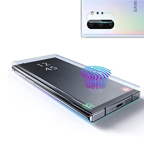 Galaxy Note 10 Screen Protector Tempered Glass, Include a Camera Lens Protector with [Case Friendly] [Full Screen] [HD Clear] [Touch Responsive] for Note10 [6.3 inches] (Best Galaxy Note 3 Accessories)