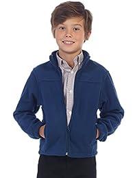 Boys Full Zip Polar Fleece Jacket