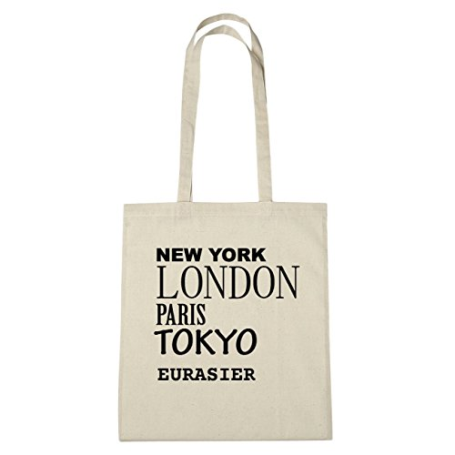 En B6361 Herz Sac London Eurasier York Paris Jollify Hände Tokyo Natur Coton New n1qfIxpT