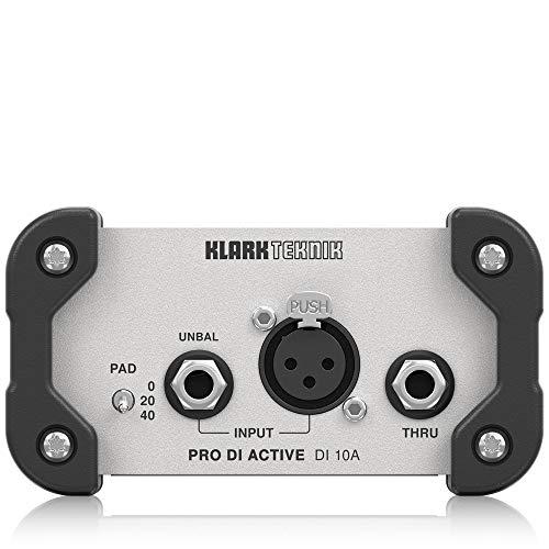 Klark teknik Signal Direct Box (DI10A) ()