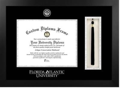 Florida Atlantic University Tassel Diploma Frame from Diploma Frame Deals