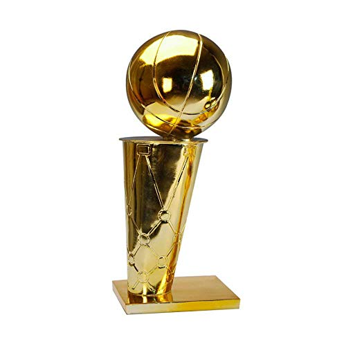 NBA Champions Trophy,O'brien Cup Golden Replica Resin Plating Trophy Contest Custom Gifts Fan Supplies Souvenirs, Large, Medium and Small,S