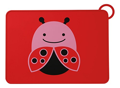 Skip Hop Zoo Fold and Go Placemat – Ladybug (Multicolor)
