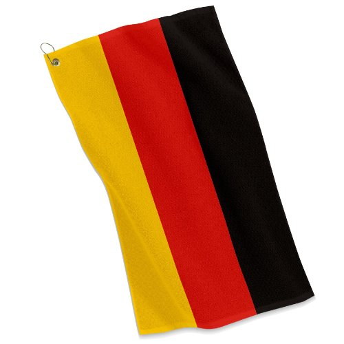 - Golf / Sports Towel - Flag of Germany - German