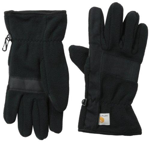 Carhartt Men's Fleece Duck Glove, Black Black, ()