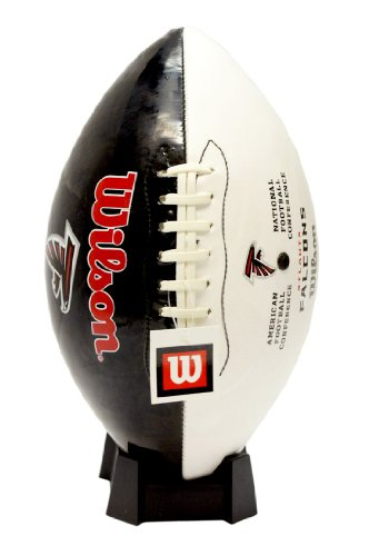Wilson Atlanta Falcons Logo Football (Wilson Atlanta Falcons Autograph Official Size Football)
