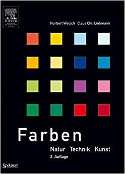 Book Farben: Natur, Technik, Kunst