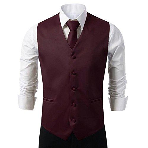 Vest Mens Tuxedo Suit - 3