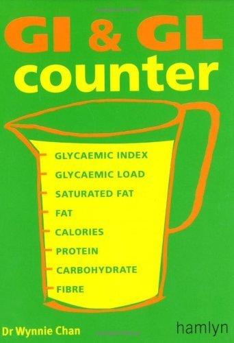 GI & GL Counter by Chan, Dr Wynnie (2006) Paperback - Hamlyn Counter