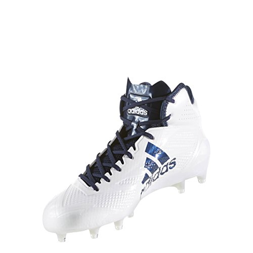 Adidas Adizero 5star 6.0 Mid Cleat Mens Football Bianco-collegiale Navy-collegiale Blu