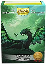 Arcane Tinmen Dragon Shield Sleeves - Matte Art 100 CT - MGT Card Sleeves - Compatible with Magic The Gatherin