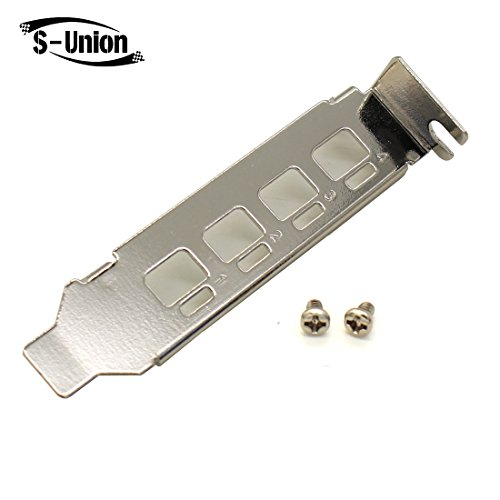 S-Union Low Profile Bracket for Nvidia Quadro NVS 510 K1200 Video Graphics Card (What's The Best Nvidia Graphics Card)