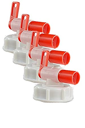 Grifo para barril, dispensador AeroFlow para bidones de plástico, Se adapta a 10 l