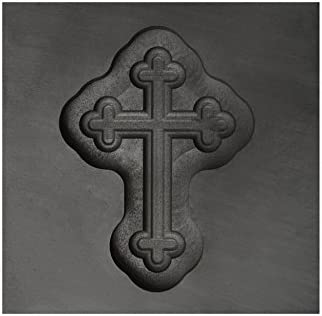 Small - Botonee Cross 3D Graphite Ingot Mold for Precious Metal Casting Gold Silver Copper Melting