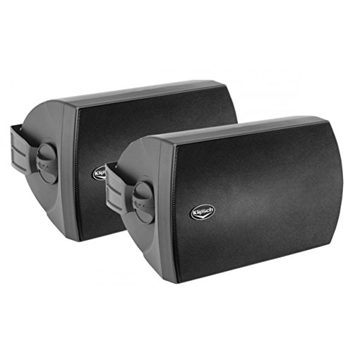 Klipsch AW 650 Indoor Outdoor Speaker Black Pair