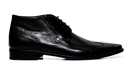 chaussures habillées Cristiano Gualtieri hommes dentelle 267 BLACK FOX