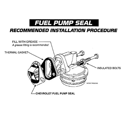 Seals-It Fits Chevy Fuel Pump Seal For Style Holley//Carter Fuel Pumps