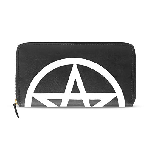 (Wallet Clutch Witch Pentagram - Card Cases Money Organizers, CuiLL PU Leather Handbag for Men Women)