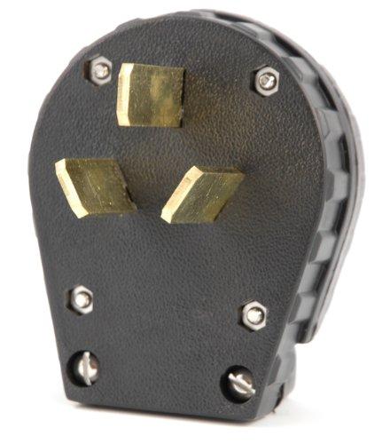 Hot Max 23120 50A Crowfoot NEMA 10-50P Plug