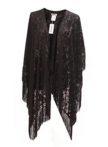 Burnout Velvet Kimono - 6