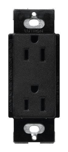 Lutron SCR-15-MN Satin Colors 15A Electrical Socket Duplex Receptacle, - Outlets Mn