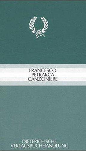 Canzoniere: Zweisprachige Auswahl. Italienisch - Deutsch Gebundenes Buch – 1. Januar 2001 Gerhard Regn Francesco Petrarca 3871620068 MAK_GD_9783871620065