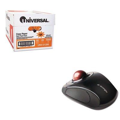 KITKMW72352UNV21200 - Value Kit - Kensington Orbit Wireless Trackball (KMW72352) and Universal Copy Paper (UNV21200)